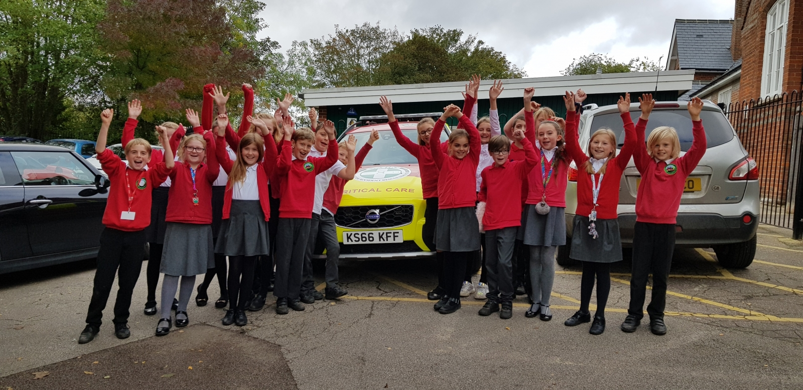 Road Safety Talk given to pupils at Rattlesden Primary