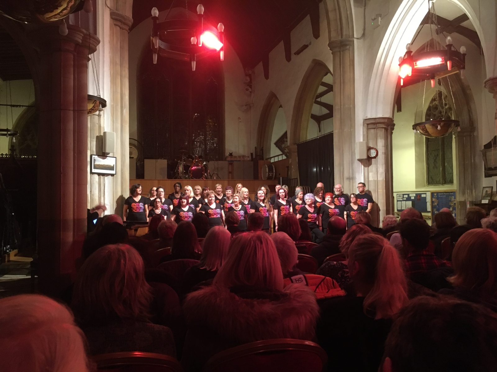 Suffolk Soul Singers raise £1k for SARS!